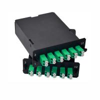 Quality MPO / MTP Cassette Contains Duplex LC Connector For Mpo Patch Panel for sale
