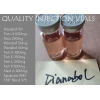 Quality Dianabol 50mg / ml Methandienone 50 Injectable Anabolic Steroids , Sex Enhancement Drugs for sale