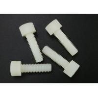 Quality M6 Hex Socket Cup Head Plastic Cap Screws Nylon White Fastener DIN 912 for sale