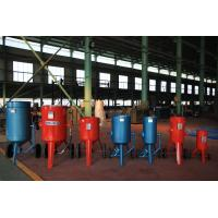 Quality shot blasting tank equipment for  rust cleaning of steel pipe internal surface Shot spraying abrasive media for sale