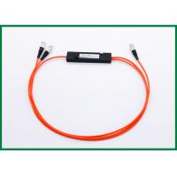 Quality 1x2 Fused Multimode Fiber Coupler , 1*2 ABS Box Splitter Module for Optical Monitoring System for sale