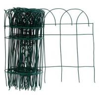 Quality Zinc Welded Green Garden Edging Fence With Low Carbon Steel Wire for sale