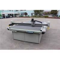 Quality High Speed Flatbed Digital Cutter Steel Structure With USB Port 1200 Mm/S for sale