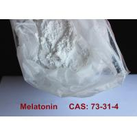 Quality Safest Pharmaceutical Raw Materials Melatonin Powder Improving Sleep / Preventing Aging for sale