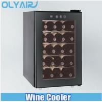 Quality 50L Dual Zone wine cooler with 2 thermoelectric cooling system for sale
