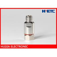 """Quality 1/2"""" Feeder Cable Rf Connector Adapter , DC 3GHz N Straight Female Connector for sale"""