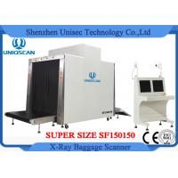 Quality Customized Airport Luggage Scanner / Baggage X Ray Scanner Large Tunnel Size 150x150mm for sale