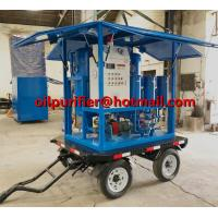 Quality Enclosed Mobile Trailer Mounted vacuum Insulating Oil treatment transformer oil dewater movable trailer filter equipment for sale