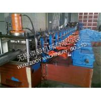 Quality high speed Freeway Guardrail Roll Forming Machine with Hydraulic Decoiler for sale