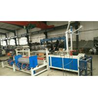 Quality 3m Width Full Automatic PLC double wire feeding Chain Link Fence machine for sale