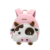 Quality NHB146 new design cute cow lightweight neoprene kids animal backpack factory for sale