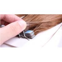 China Custom Brown Durable Straight Tape In Human Hair Extensions Virgin Hair on sale