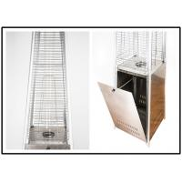 Quality Portable Stainless Steel Glass Tube Patio Heater With Piezo Electronic Ignition for sale