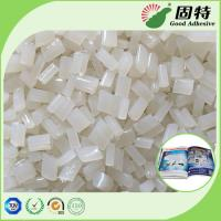 Buy cheap EVA White Transparent Hot Melt Book Binder Glue Adhesive Pellets For Double Film from wholesalers
