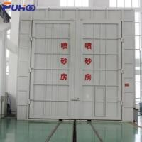 Large Scale Industrial Sand Blasting Room Flexible Layout For Locomotive Industry