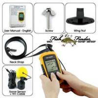 Best Fish Finder with Sonar Sensor + 9 meter cable,Portable Fish Finder With LCD Screen wholesale