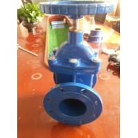 Quality Cast Iron Non Rising Stem Single Wedge Disc Gate Valve Flanged PN10 / PN16 for sale