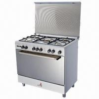Quality Gas oven with white coating body for sale