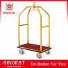 Best Stainless steel hotel bellman birdcage luggage cart wholesale