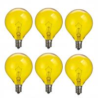 Buy cheap Wax Warmer Bulbs Dimmable Incandescent Light Bulb filament , G50 Round 25 Watt from wholesalers