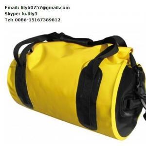 Quality Customized Travel bag waterproof tarpaulin , tarpaulin grab bag for sale
