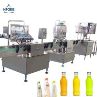 Quality Glass Bottle Carbonated Beverage Filling Machine 1000 Bph Filling Speed for sale