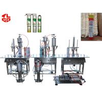 Best PU Foam Spray Can Filling Machine For Leaking Stoppage / Weather Proofing wholesale