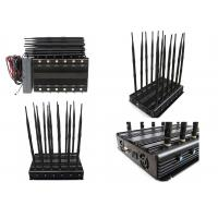 Quality 12 Bands 12 Antennas Cell Phone Signal Jammer GSM 2G 3G 4G Long  Time Working for sale