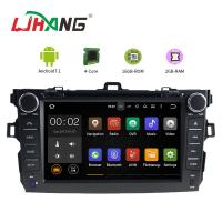 Quality Left Hand Driving Multimedia Toyota Car DVD Player With MP3 MP4 DVR AUX for sale