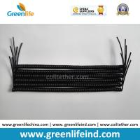 Quality Protection Tools Need Rein-forced Wire Spring Semifinished Tether Solid Black for sale