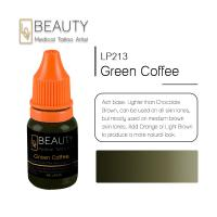 China Medical Permanent Makeup Ink , Green Coffee Eyebrow Tattoo Pigment on sale