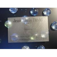 Best UV Spot Light Smart Transparent PVC Business Card With Signature Panel For Club wholesale