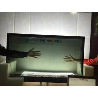 China Colorful Refrigerator With Lcd Touch Screen , Flexible Size Transparent Lcd Fridge on sale