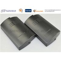 Quality Black Color , Custom Plastic Enclosures Injection Moulded With MT Fine Texture for sale