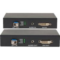 Quality DVI-D Uncompressed Video Fiber Optic Extender With Audio for sale