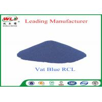 Quality 100% Purity Blue Vat Dye RCL Vat Dyes Dyestuffs Powder For Cotton Fabric for sale