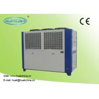 Quality Air Cooled Packaged Type Air Cooled Chilled Water System 65.1 - 116.0 M³/H Plate Corlor Chiller for sale