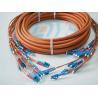 Best Orange Optical Fiber Patch Cord , Pre-Terminated Fibre Optic Cable LC wholesale