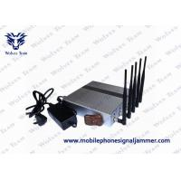 Quality 3G 4G Wimax Remote Control Jammer Effective Operating For Cell Phones for sale
