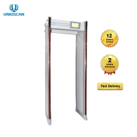 "Quality 7"" LCD Monitor 33 Zones 15W Door Frame Metal Detector for sale"