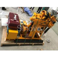 Small Sinovo Spindle Core Drilling Rig For Soil Investigation