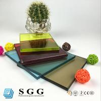 Quality high quality10.38mm colored laminated glass for sale