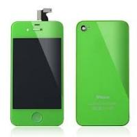 Quality Custom LCD Assembly Apple IPhone 4S Repair Parts of Green Conversion Kit Replacing for sale
