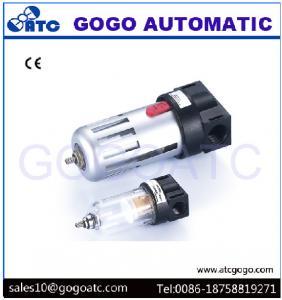 Quality 1/2 Inch Port Air Compressor Regulator , Copper Filter Cartridge Manual Air Regulator Valve for sale