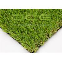 Buy Olive Shape Custom Realistic Artificial Grass With Natural Looking Forver Green at wholesale prices