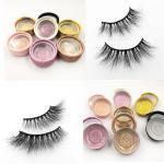 Quality Wholesale Real Mink Eyelashes Custom Luxury Eyelash Packaging Box 3D Mink Eyelashes Vendor for sale