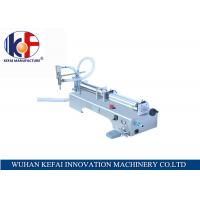 Quality hot sale factory price semi-automatic piston water juice  liquid filling machine made in China for sale