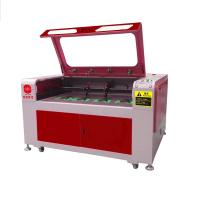 Quality 180W Leather Laser Cutting Machine , Leather Engraving Machine For Shoe Vamp / Sole for sale