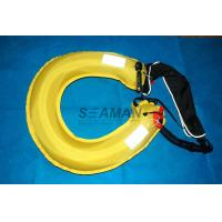 Quality Inflatable Lifebuoy Ring 110N Buoyancy Personal Flotation Device Water Rescue Ring for sale