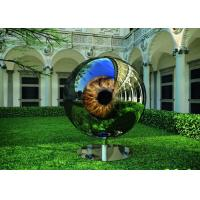Quality Eyeball Design Steel Artworks Artists Sculpture For Garden Decoration for sale